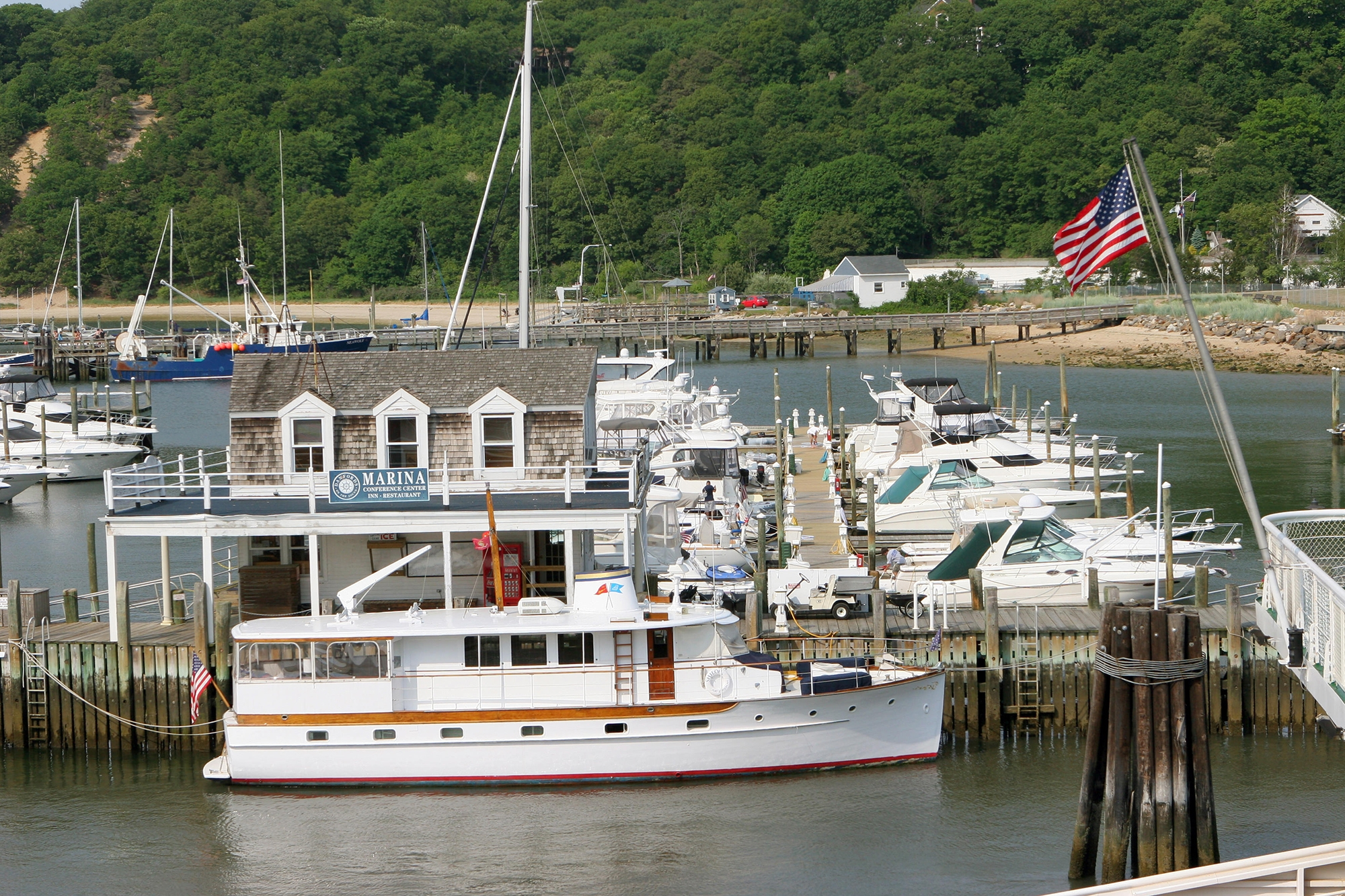 Marina in Port Jefferson